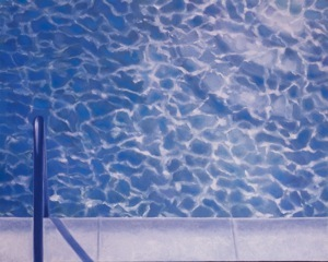 Pool, oil on canvas